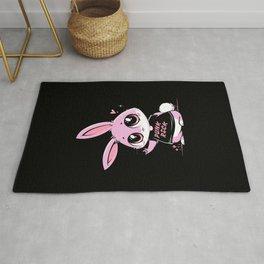 Punk Rock Bunny Rug