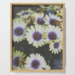 African Daisy Serving Tray