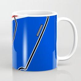 Melbourne Racetrack Coffee Mug
