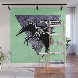 Pterodactyl Fossil Wall Mural