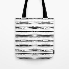 B&W Shibori #society6 #shibori Tote Bag