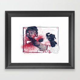 Hockey! Framed Art Print