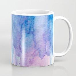 Blue & Purple Watercolor Coffee Mug