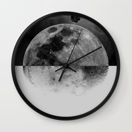 Moonhead Wall Clock