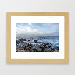 The Sea 2 Framed Art Print
