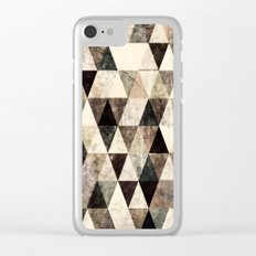 Abstract #365 Clear iPhone Case