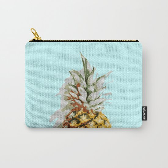 Summer Ananas Carry-All Pouch