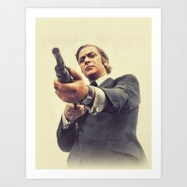 Michael Caine, Actor Art Print
