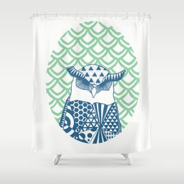 Oowly Mooly Shower Curtain