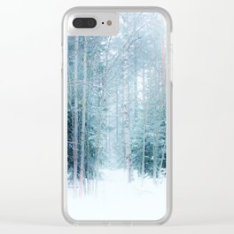 Fabulous forest Clear iPhone Case