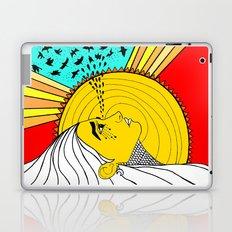 sad mornings Laptop & iPad Skin