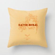 David Bisbal I Throw Pillow