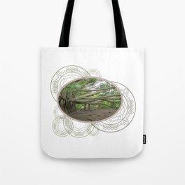 Ancient Tree Roots Banyan Tree Tote Bag