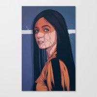 pain Canvas Prints featuring Pain by Conrado Salinas