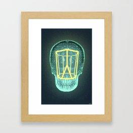 Think Outside the Scutoid Framed Art Print