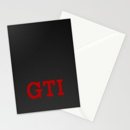 GTI Carbon Stationery Cards