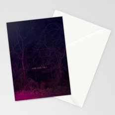 Kiss and Tell Stationery Cards