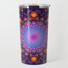 """""""Guardian"""" Mandala painting Travel Mug"""