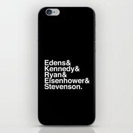 Helvetica Chicago Expressways Reversed iPhone Skin