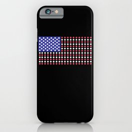 American Flag | Funny Gambling Gift iPhone Case