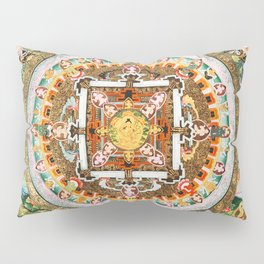 Buddhist Mandala White Tara Pillow Sham