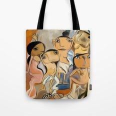 Les Demoiselles d'Avignon Tote Bag