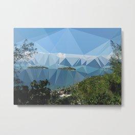 The Color of Travel : Bora Bora Metal Print