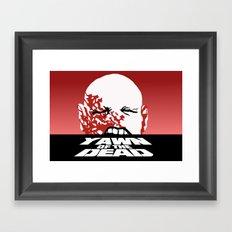 yawn of the dead Framed Art Print