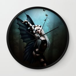The Butterfly Dancer Wall Clock