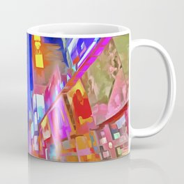 Times Square New York Pop Art Coffee Mug