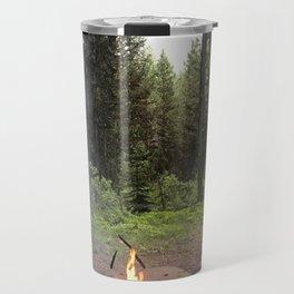 Backpacking Camp Fire Travel Mug