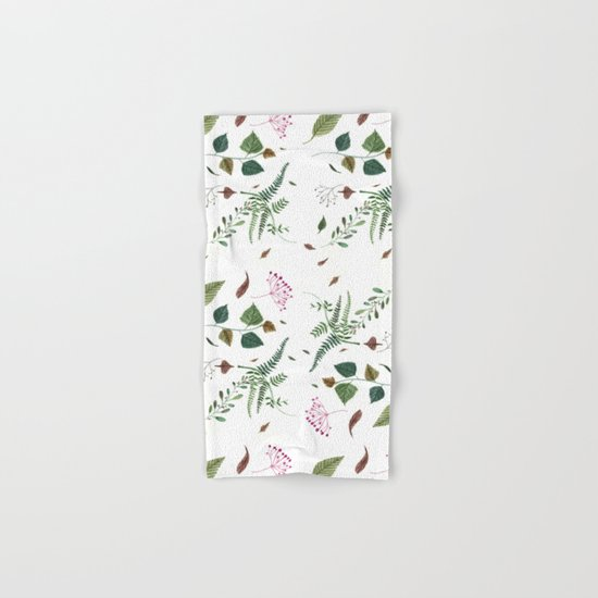 Plants Hand & Bath Towel