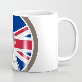 British House Removal Union Jack Flag Icon Coffee Mug