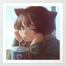 Cola Art Print