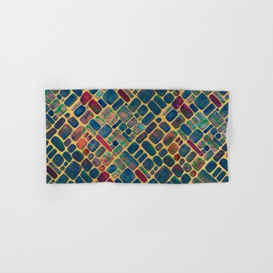 Abstract Tile Mosaic 2 Hand & Bath Towel