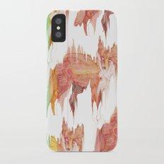 Remix Red Fox iPhone X Slim Case