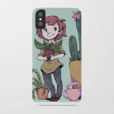 Plant Love iPhone X Slim Case