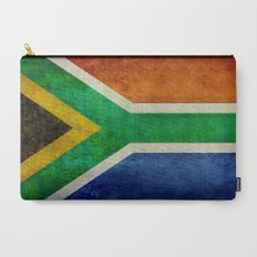 Flag of South Africa - Vintage Banner version Carry-All Pouch