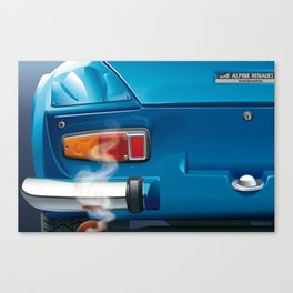 Renault Alpine A110 from 1962 Canvas Print