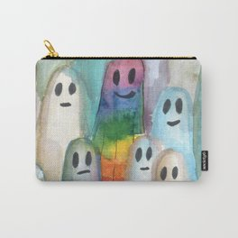 the rainbow gay ghost Carry-All Pouch