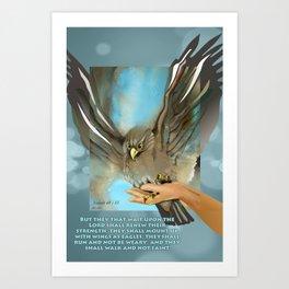 Wings Of Eagles Art Print