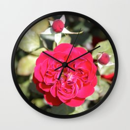 Flower Power 2 Wall Clock