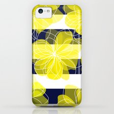 Camelia Stripes iPhone 5c Slim Case