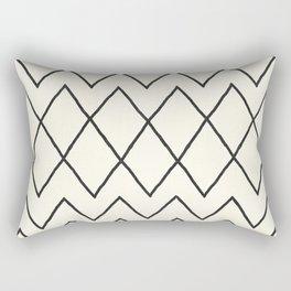 Avoca in Cream Rectangular Pillow