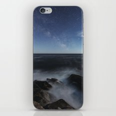 Milky Way in Moonlight iPhone & iPod Skin