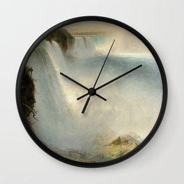 Niagara Falls - Frederic Edwin Church Wall Clock