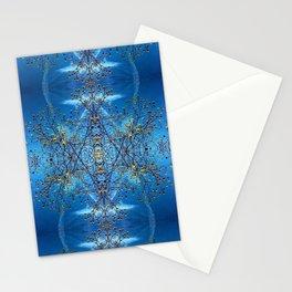 Spring bloom mandala Stationery Cards