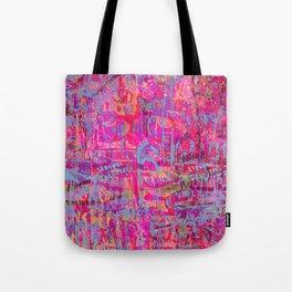 Pink Graffiti Tote Bag