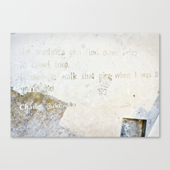 Writing on the Wall [2] Canvas Print