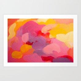 Dawn's Reflection (detail) Art Print